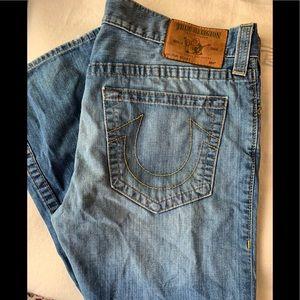 True Religion Bobby Jeans 36x33